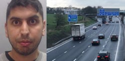 Drink Driver jailed for Causing M6 Crash and Killing Friend