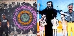 Famous Pakistani Graffiti Artists