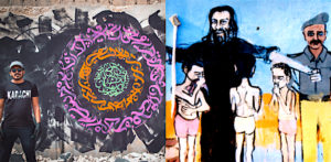 Famous Pakistani Graffiti Artists f