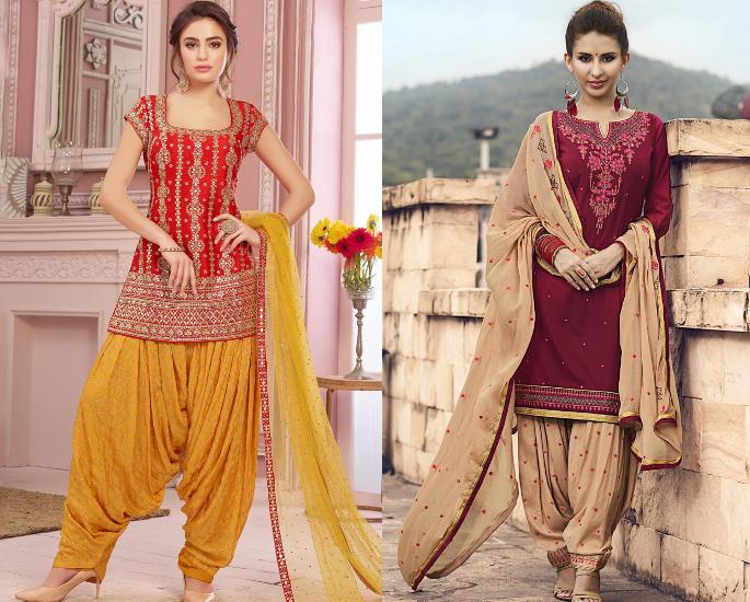 How Do I Wear a Salwar Kameez? - patiala