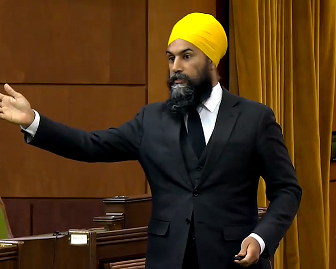 Jagmeet Singh removed from Parliament for 'racist' Remark - admit