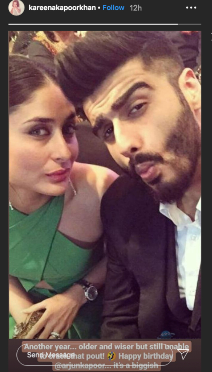 Malaika Arora wishes her 'Sunshine' Arjun Kapoor on Birthday - kareena