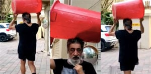Shakti Kapoor goes to buy Alcohol carrying Bin in Viral Video f