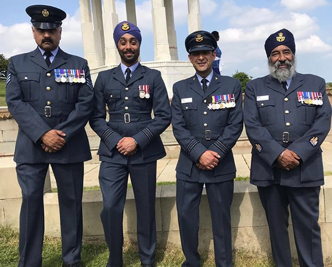 Shiv Chand talks RAF Career, Diversity & Innovation - ethnic