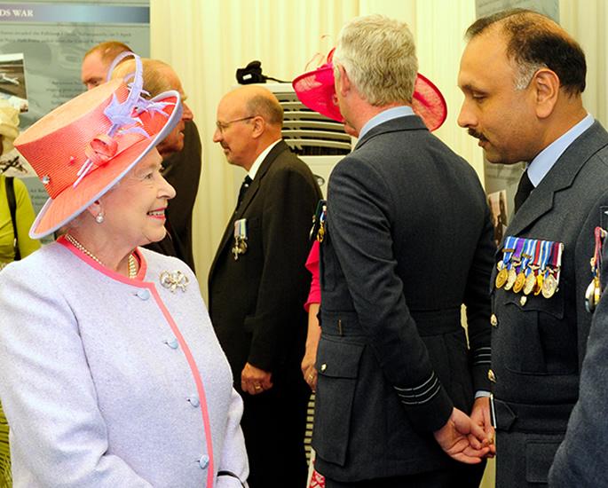 Shiv Chand talks RAF Career, Diversity & Innovation - queen
