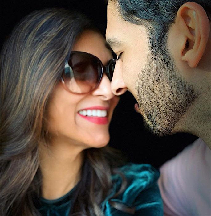 Sushmita Sen reveals BF Rohman Shawl initially Hid his Age - close