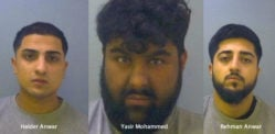 Trio jailed for 'Appalling' Attack on Man in Car Park