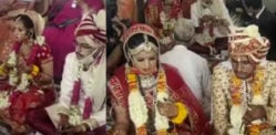 Two Indian Sisters orphaned in Dying State get Married
