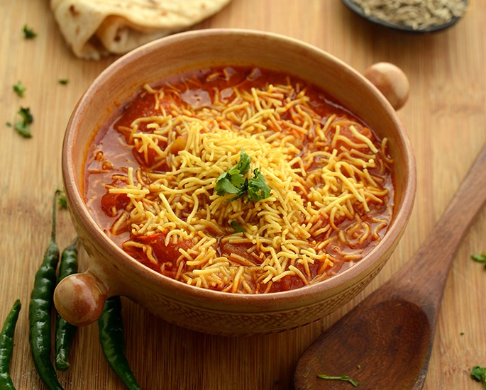 10 Popular Gujarati Curries & Dishes You Must Try - sev