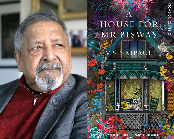 5 Top Indian Comic Authors & their Novels - naipaul