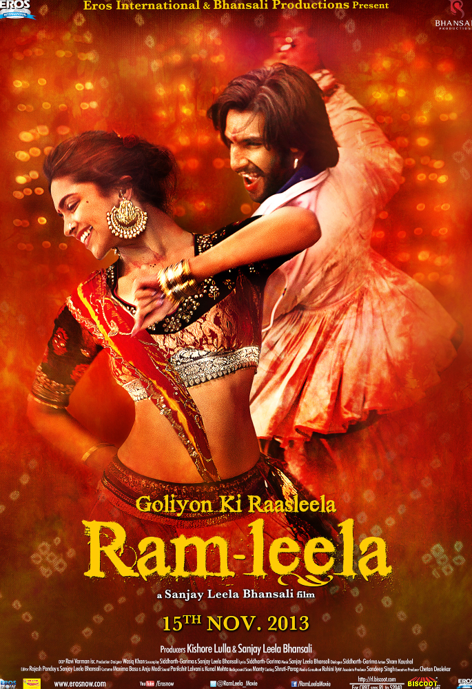 7 Bollywood Movies inspired by William Shakespeare's Plays - ram-leela