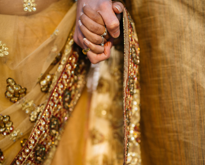 A Look into Modern Arranged Marriages in India - hands