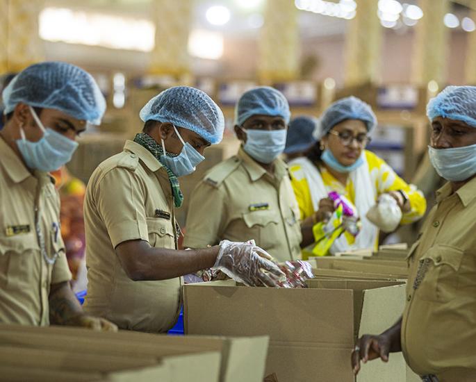 Akshaya Patra Foundation CEOs talk Food Relief to Vulnerable - authorities