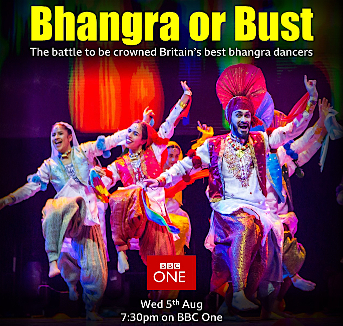 BBC's Bhangra or Bust reveals Battle of Bhangra Dancers - poster