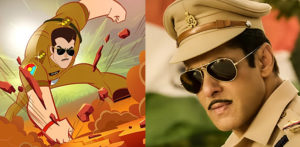 Chulbul Pandey to be Adapted into Animated TV Series f