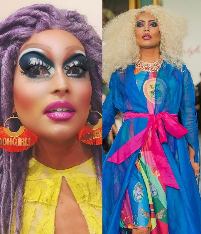 Desi Drag Queens you must Follow on Instagram - asifa lahore