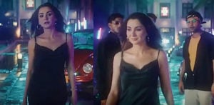 Hania Amir trolled for Oufit in Asim Azhar's 'Tum Tum' f