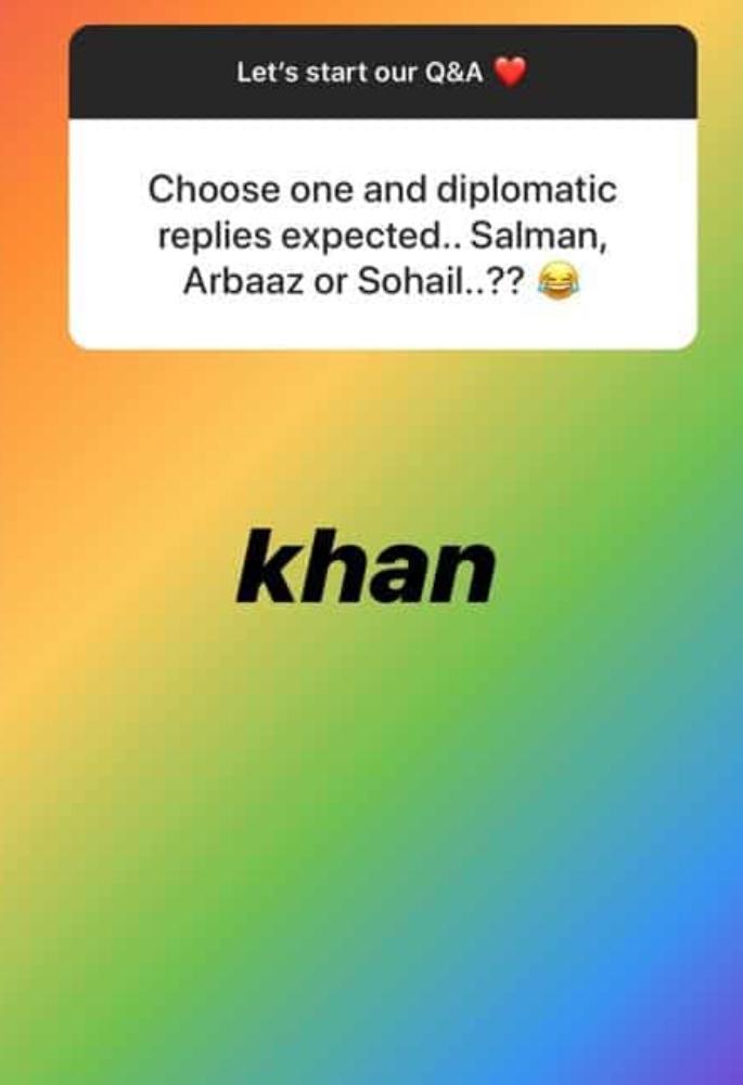 Iulia Vantur asked to choose between Salman, Arbaaz & Sohail - khan