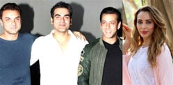 Iulia Vantur asked to choose between Salman, Arbaaz & Sohail