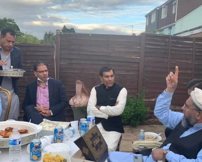 Luton Mayor seen at Party amid Surge in Covid-19 Cases