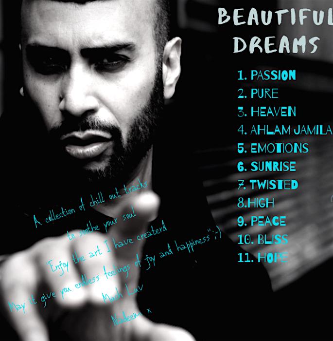 Nadeem Ahmed Beautiful Dreams - album cover