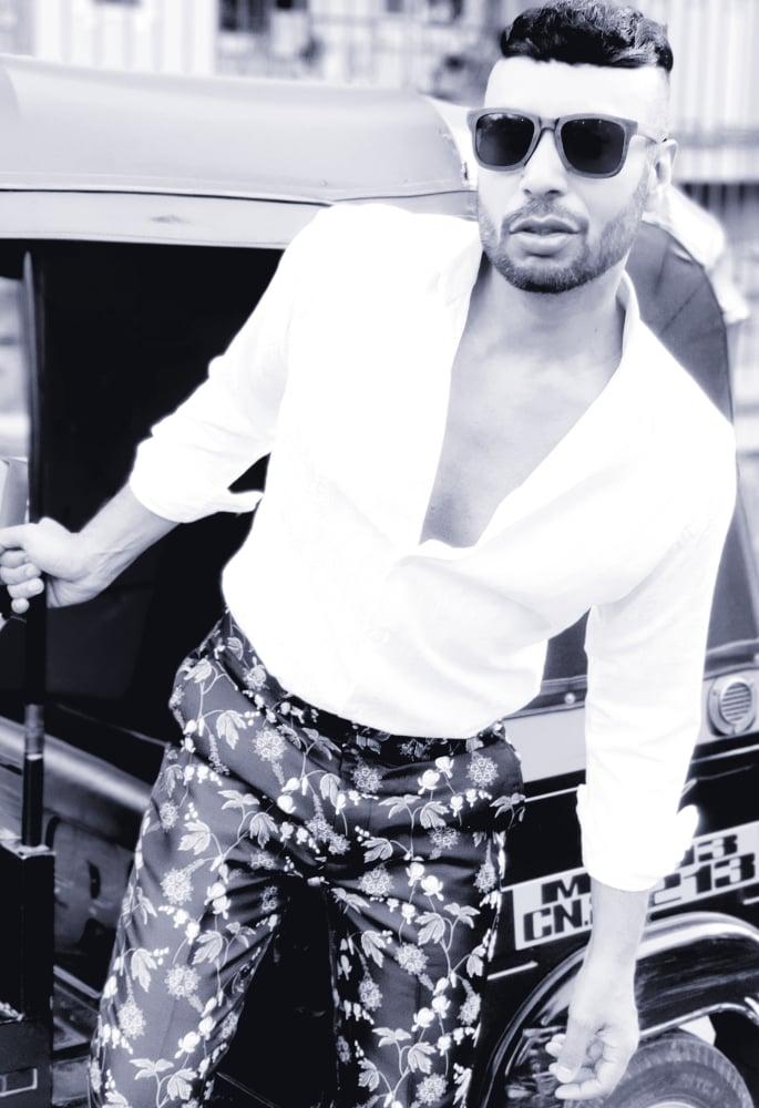 Nadeem Ahmed Beautiful Dreams - black and white