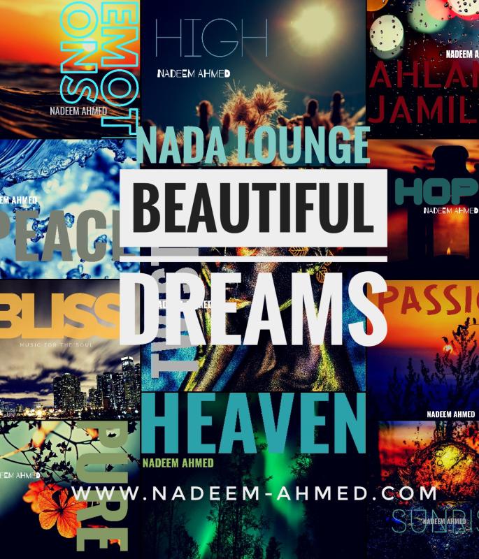 Nadeem Ahmed Beautiful Dreams - cd cover