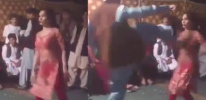 Pakistani Dancer kicked over 'Provocative Moves' f