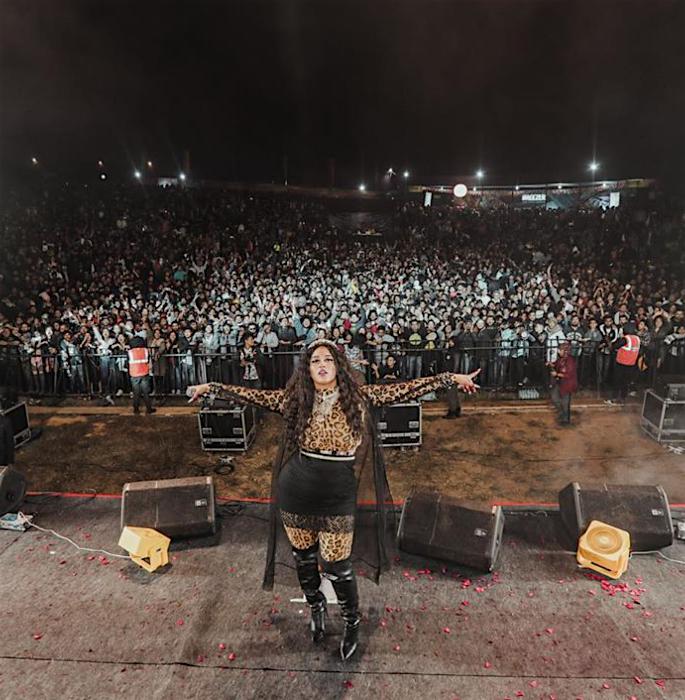 Raja Kumari talks 'One Love', 'Peace' - festival