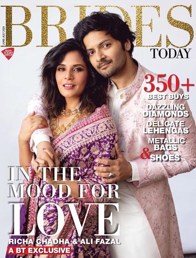Richa Chadha says Ali took a '10-minute nap' after Proposing - cover