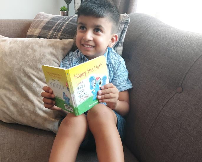 Rubeena Kaur Mehat talks Happy The Hathi - kid