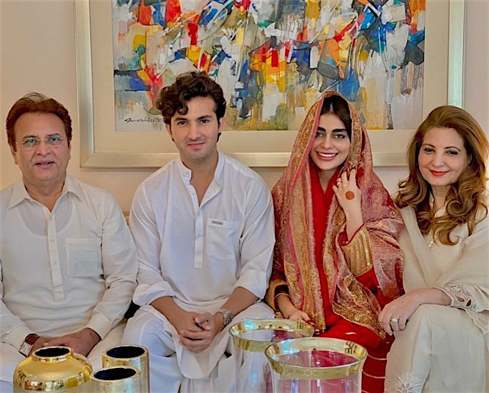 Shahroz Sabzwari & Sadaf Kanwal react to Marriage criticism - wedding-3