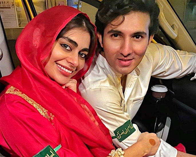 Shahroz Sabzwari & Sadaf Kanwal react to Marriage criticism - wedding-4