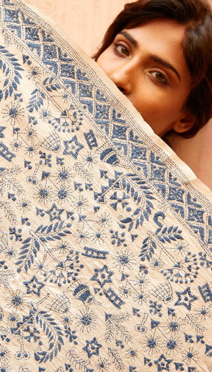Top 10 Sustainable Indian Fashion Brands - House of Wandering Silk