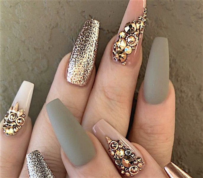 Top Indian Nail Art Designs - bridal