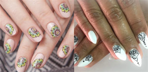 Top Indian Nail Art Designs f