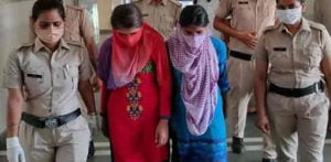 Two Indian Girlfriends of Double Murder Crook arrested f