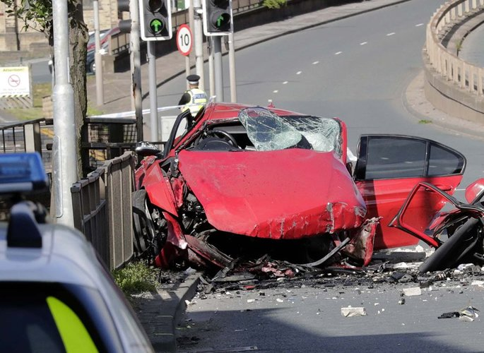 Two Men killed in Horror Crash following Police Pursuit