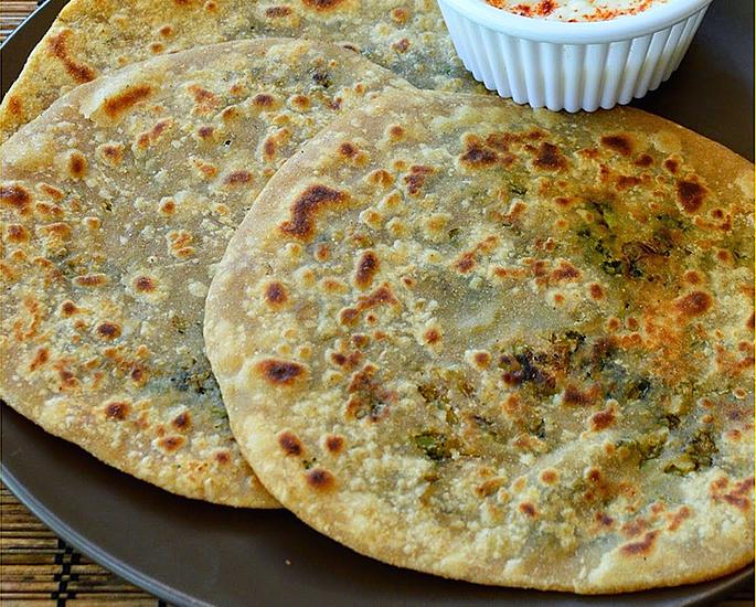 10 Delicious Vegan Paratha Recipes - broccoli