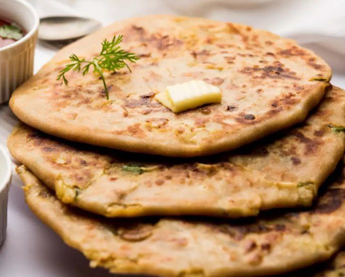 10 Delicious Vegan Paratha Recipes - cheese