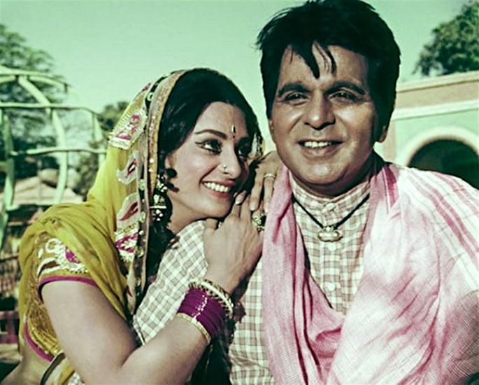 सायरा बानो आणि दिलीप कुमारची प्रेमकथा - एक जोडी