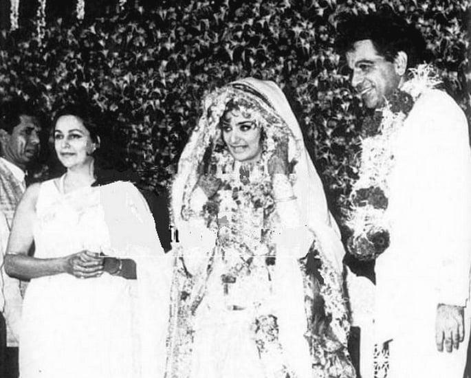 सायरा बानो आणि दिलीप कुमारची प्रेमकथा - लग्न