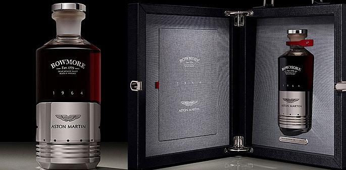 Aston Martin Bowmore Create 50 000 Bottle Of Whiskey Desiblitz