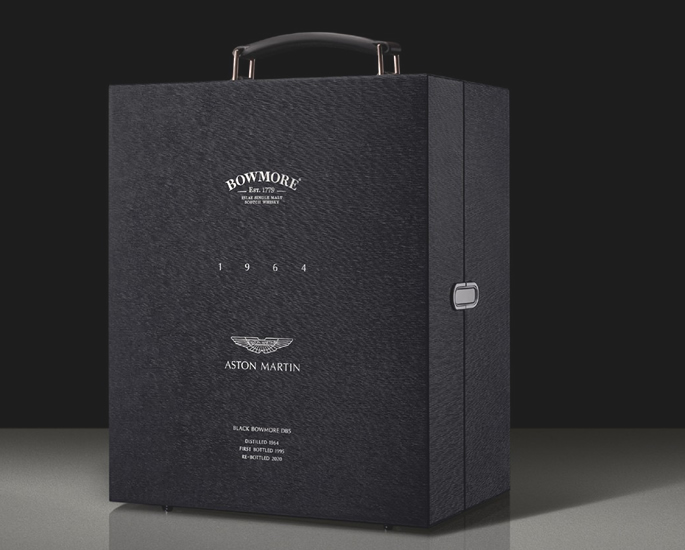 Aston Martin & Bowmore create £50,000 Bottle of Whiskey