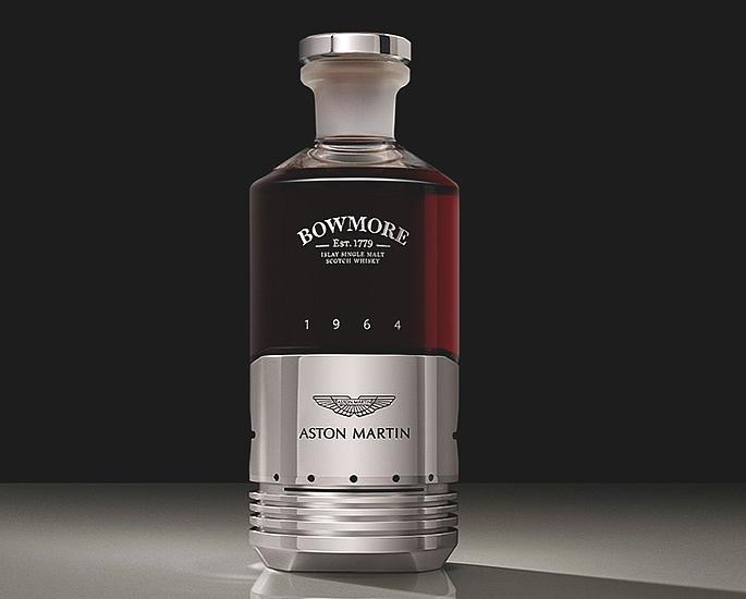 Aston Martin & Bowmore create £50,000 Bottle of Whiskey2