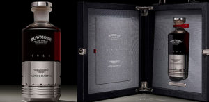 Aston Martin & Bowmore create £50,000 Bottle of Whiskey f