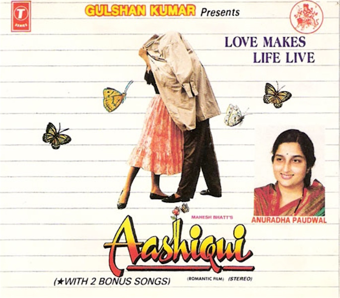 Celebrating 30 Years of Aashiqui and its Music - Originally an Album cover
