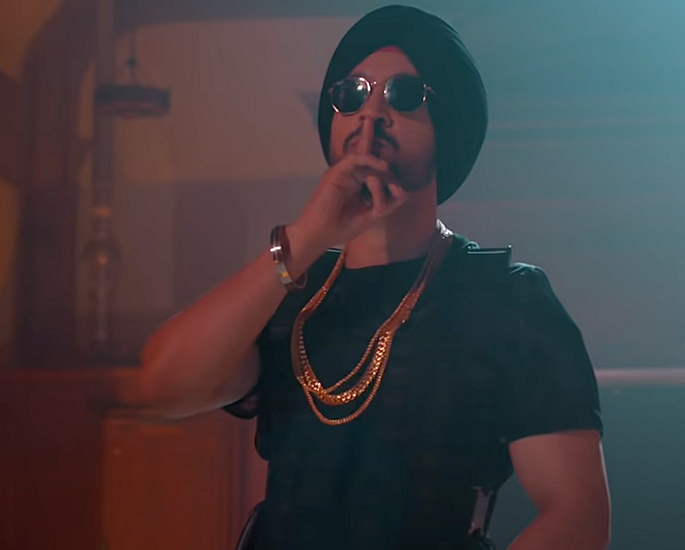 Diljit Dosanjh is The Greatest Of All Time with G.O.A.T. gold