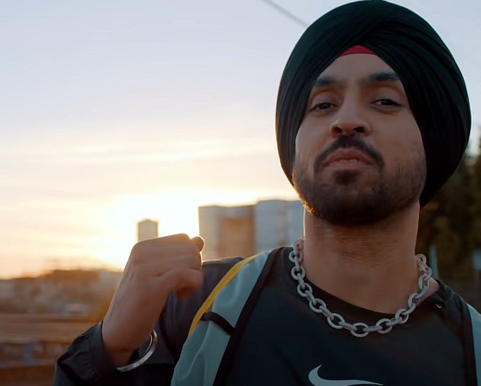 Diljit Dosanjh is The Greatest Of All Time with G.O.A.T. nike pro