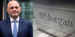 एक्स-चांसलर साजिद जाविद ने जेपी मॉर्गन सलाहकार के रूप में काम पर रखा